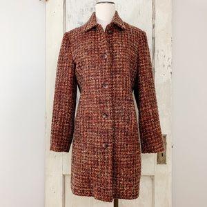 Requirements Wool Tweed Coat Size 10